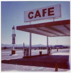 Pit Stop, 21st Century, Polaroid, Landscape Photography
