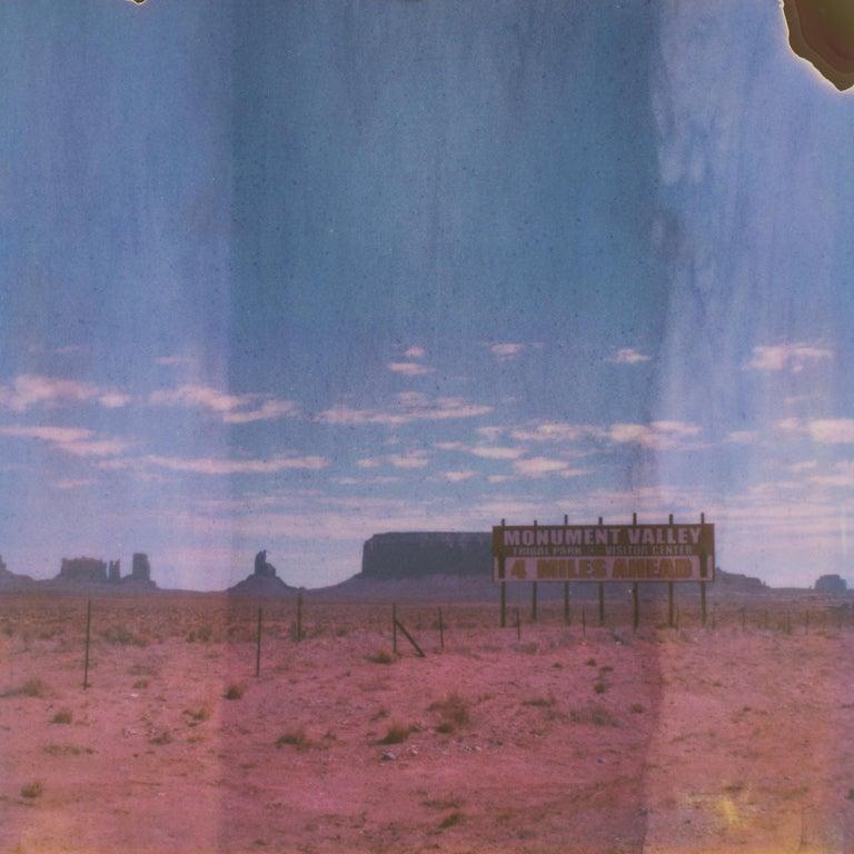 Kirsten Thys van den Audenaerde Color Photograph - Promised Land, 21st Century, Polaroid, Landscape Photography, Color, Contemporar