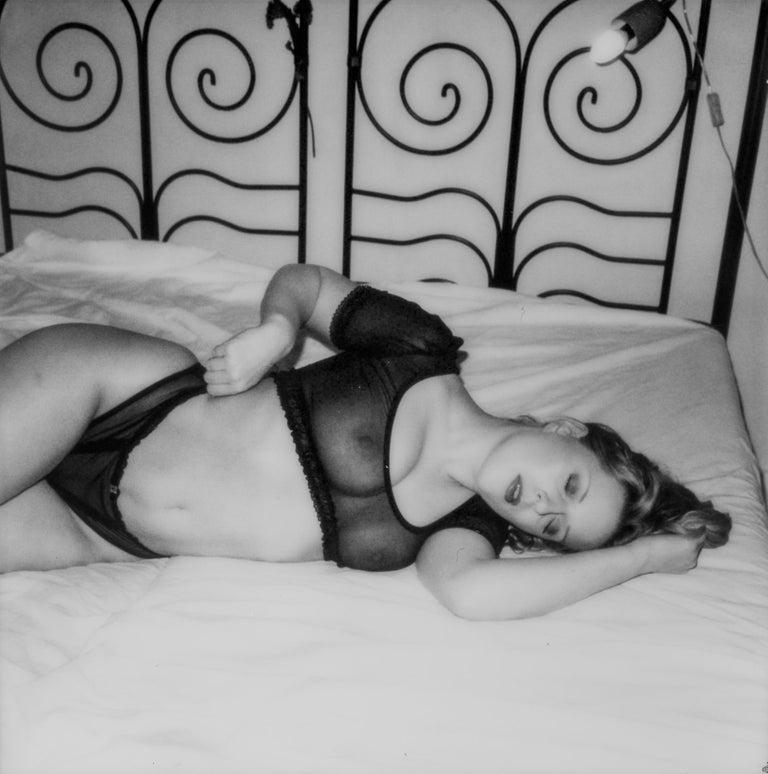 Kirsten Thys van den Audenaerde Nude Photograph - Pull I - Contemporary, Nude, 21st Century, Polaroid