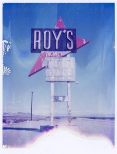 Road trip Romance - 21st Century, Polaroid, Landscape Photography, Contemporary