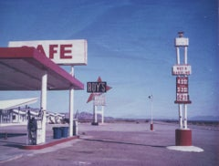 Roy's, 21st Century, Polaroid, Landscape Photography, Contemporary, Color