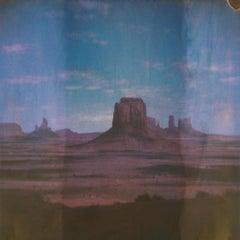 Sacred (50x50cm) - 21st Century, Polaroid, Landscape, Color, Contemporary