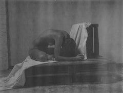 Sacrilege - Contemporary, Polaroid, Black and White, Women, Nude