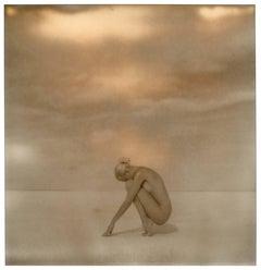 Salt on my Skin - 80x80cm - Polaroid, Contemporary, 21st Century