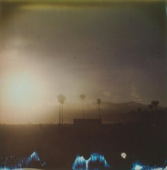 Santa Monica - 21 Century, Women, Contemporary, Polaroid, Landscape