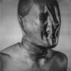 Scream if you wanna go faster - Contemporary, Man, Nude, Polaroid, photograph