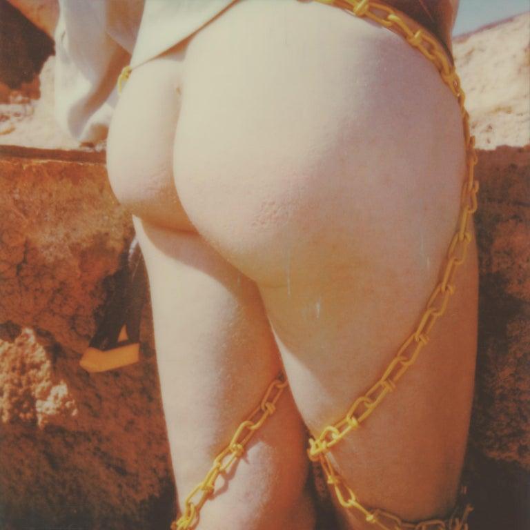 Kirsten Thys van den Audenaerde Nude Photograph - Sign of the Times - Contemporary, Nude, men, Polaroid, 21st Century