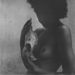 Skin and Bones III - 21st Century, Polaroid, Nude Photography, Contemporary, B&W
