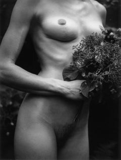 Statuesque, 21st Century, Polaroid, Nude Photography, Contemporary, B&W