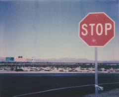 Stop (in the name of love) - Contemporary, Landscape, Polaroid