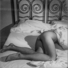 The price of Love - Contemporary, Woman, Nude, Polaroid, photograph