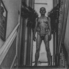 The world is mine - Contemporary, Nude, Men, Polaroid, 21st Century