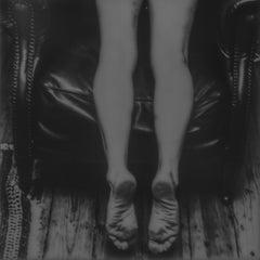 Throne - Contemporary, Nude, legs, Polaroid, 21st Century