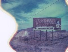 Tonopah calling - 21st Century, Polaroid, Landscape Photography, Contemporary