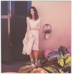 Tranquility - Contemporary, Women, Polaroid, 21st Century, Color