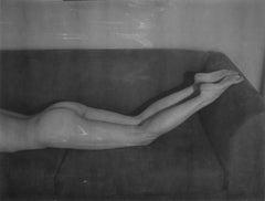 Uninvited - Contemporary, Portrait, Women, Polaroid, 21st Century, Nude
