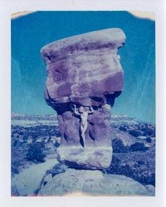 Weight of the World - Contemporary, Nude, Women, Polaroid, 21st Century