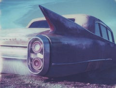 Winged III, 21st Century, Polaroid, Vintage Cars, Photography, Contemporary