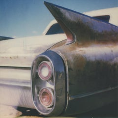 Winged IV, 21st Century, Polaroid, Vintage Cars, Photography, Contemporary