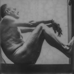 Wish you were here - Contemporary, Nude, Men, Polaroid, 21st Century
