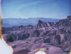 Zabriskie (48x60cm)- 21st Century, Polaroid, Landscape Photography, Contemporary