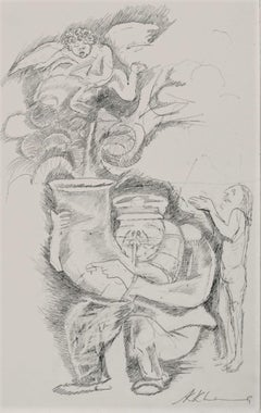 """Bandwala, Pencil on Paper, Black & White colours by Modern Artist """"In Stock"""""""