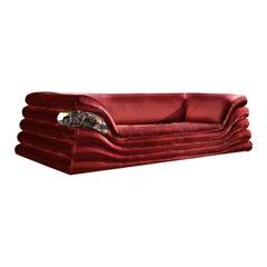 Kissen 3-Seat Sofa by Livio Ballabio
