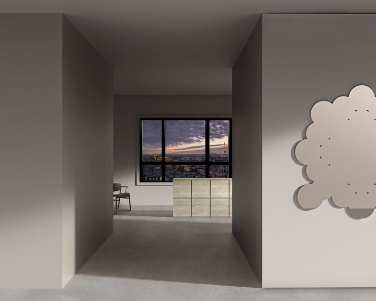 Modern Kit Christo Contemporary Mirror by Asata For Sale