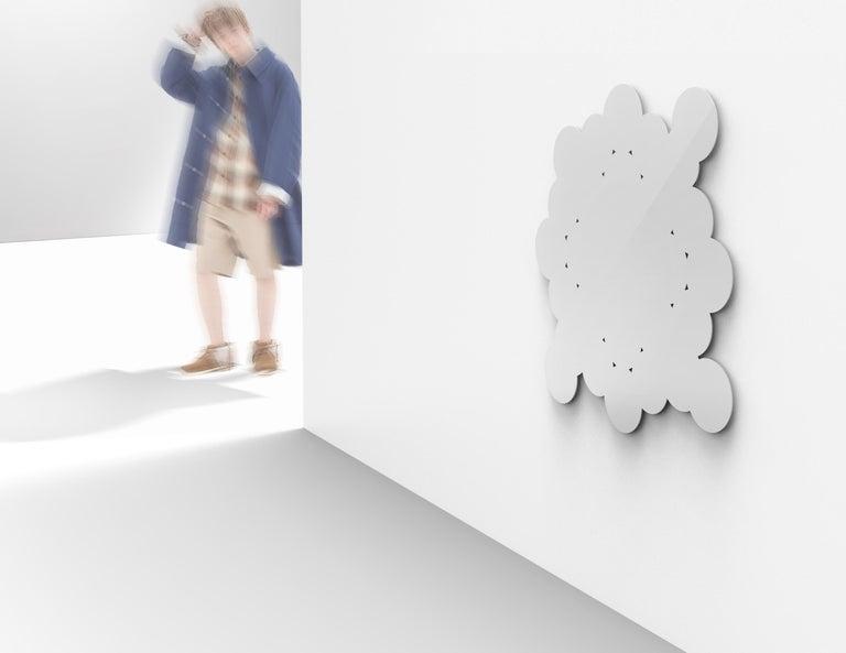 Italian Kit Christo Contemporary Mirror by Asata For Sale
