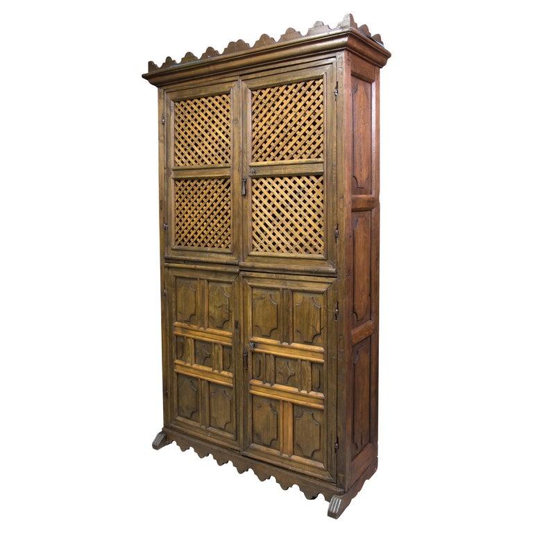 Oak Kitchen Cabinets For Sale: Kitchen Cabinet, Oak, Castillian Influence, Spain, 17th