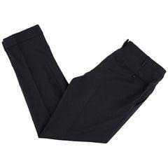 Kiton Grey Wool Tailored Trousers  52