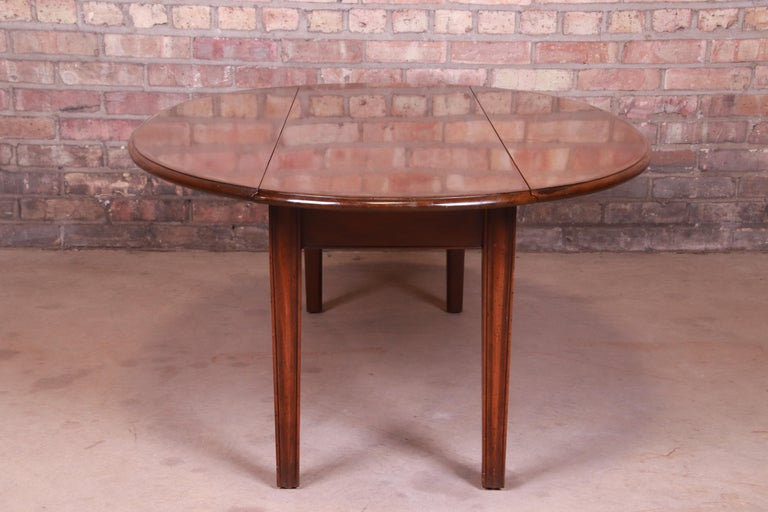 Kittinger American Colonial Mahogany Drop-Leaf Coffee Table For Sale 2