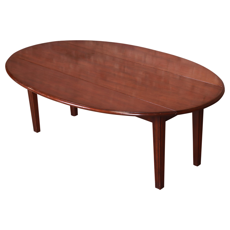 Kittinger American Colonial Mahogany Drop-Leaf Coffee Table