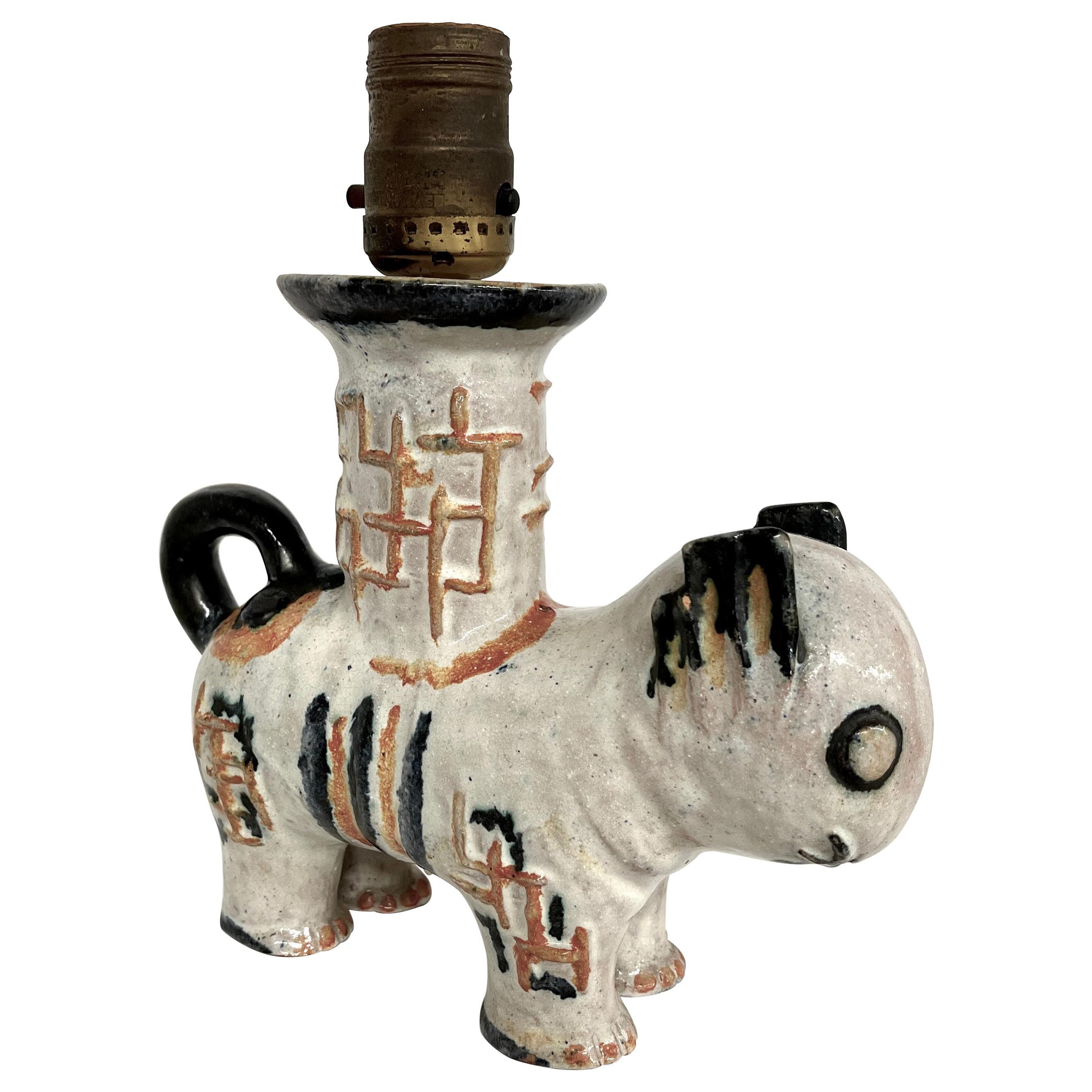 Kitty Rix for Wiener Werkstatte 1920's Cat Ceramic