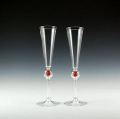 Anatomical Heart Toasting Flutes