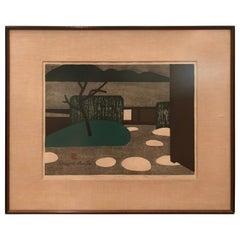 Kiyoshi Saito Katsura Kyoto Lithograph