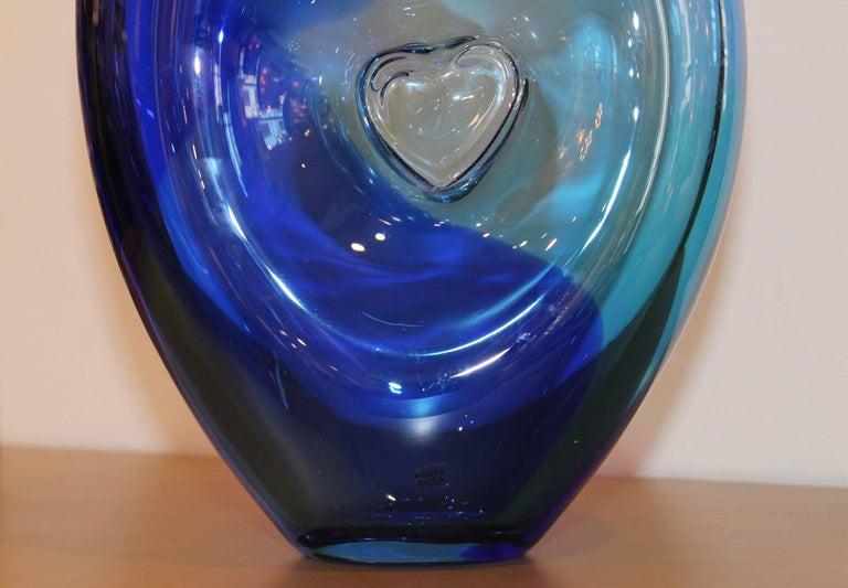 Kjell Engman for Kosta Boda Vase In Good Condition For Sale In New York City, NY
