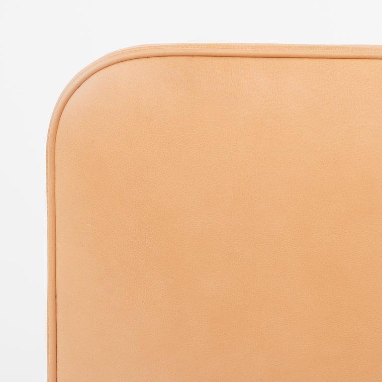 Scandinavian Modern KK 4118 3-Seat Sofa in Niger Leather by Kaare Klint For Sale