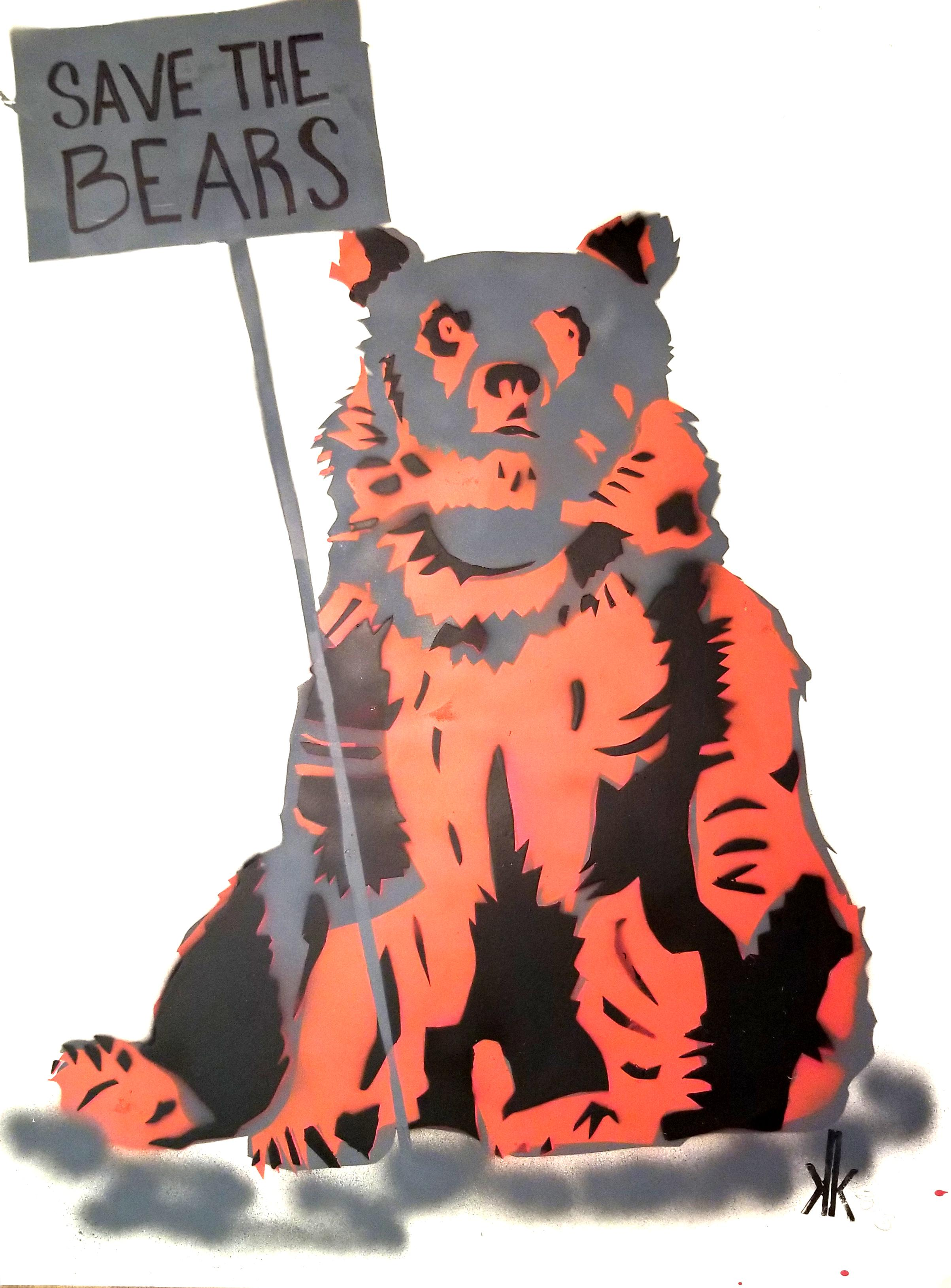 Grizzly Bear SAVE THE BEARS