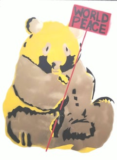 Panda in Gold: World Peace
