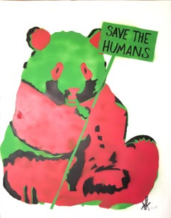 Panda SAVE THE HUMANS