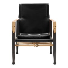KK47000 Safari Chair in Smoked Stain by Kaare Klint