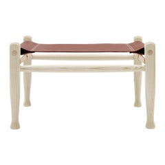 KK97170 Safari Footrest in Ash Oil by Kaare Klint
