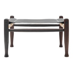 KK97170 Safari Footrest in Smoked Stain by Kaare Klint