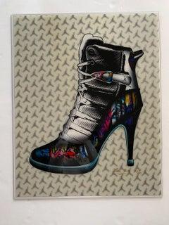 Graffiti Sneaker Stiletto