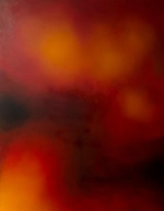 Untitled- Spheres - XXI century, Contemporary oil abstract painting, Canvas