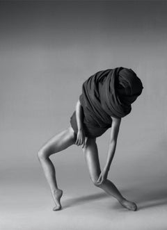 168.02.12, Wrapped series (black and White nude photography)