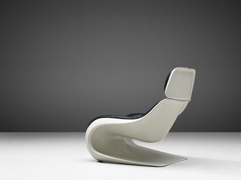 Mid-Century Modern Klaus Uredat Sculptural 'Targa' Lounge Chair For Sale