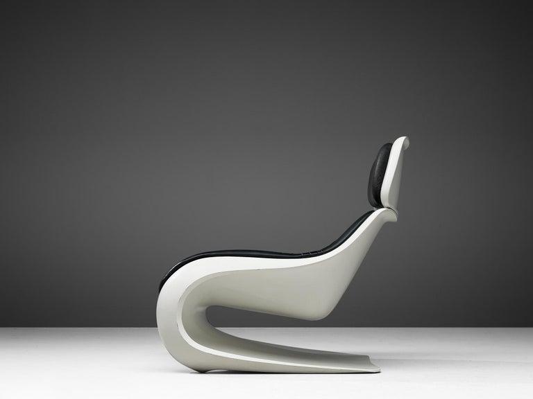 German Klaus Uredat Sculptural 'Targa' Lounge Chair For Sale