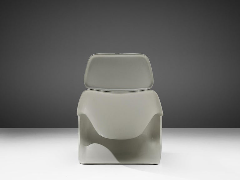 Molded Klaus Uredat Sculptural 'Targa' Lounge Chair For Sale